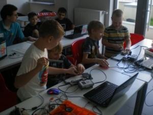 warsztaty dla dzieci z LEGO NXT